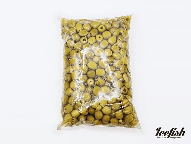 Aceitunas Verdes Deshuesadas Kg.