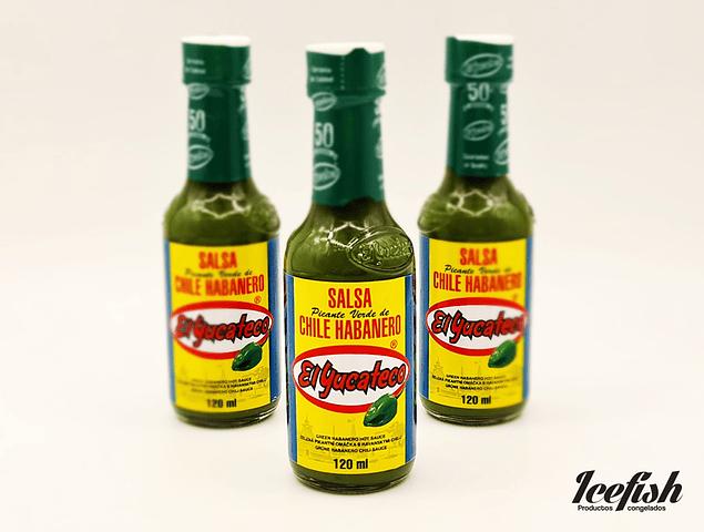 El Yucateco Habanero Salsa Verde 120 ml.