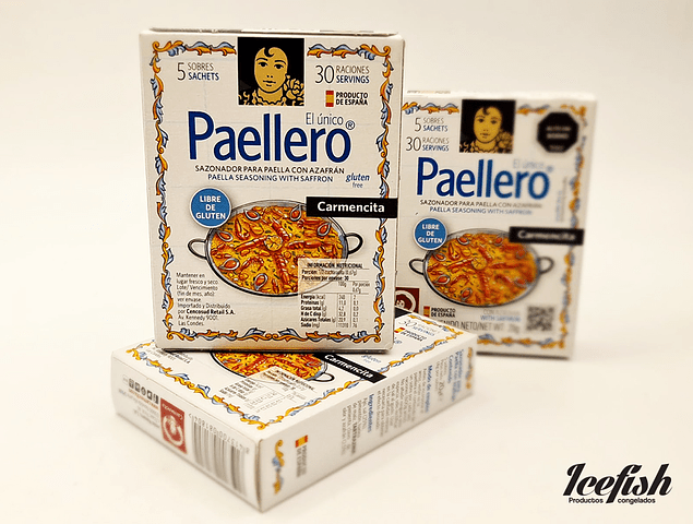 Sazonador para Paella