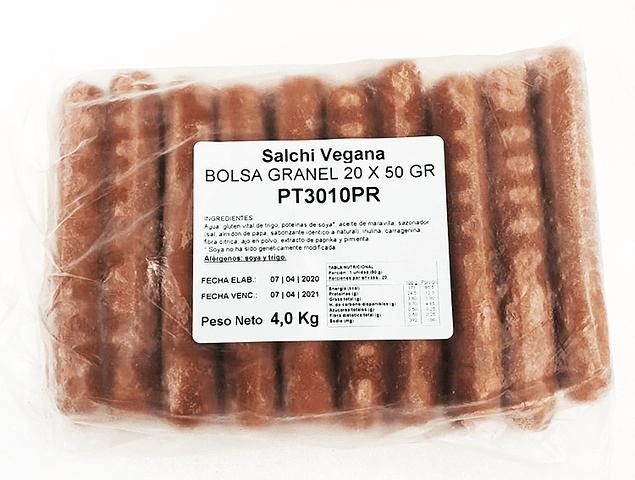 Salchichas Vegana 20 Unidades