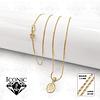 Cadena Virgen Milagrosa Oro Laminado 18k