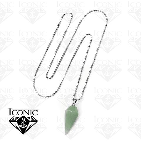 Cadena con Pendulo Piedra Jade