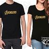 Par de Camisetas Avengers para Pareja