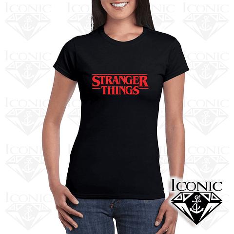 Camiseta Stranger Things para Dama