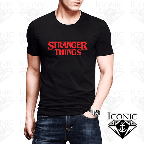 Camiseta Stranger Things para Caballero