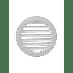 """Celosia Circular 18"""", Color Blanco"""