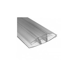 Perfil H CLIP 4/10 mm x 11.60 Mts.