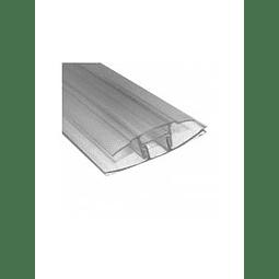 Perfil H CLIP 4/10 mm x 5,80 Mts.