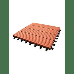 Palmeta WPC 30x30cm Cedro (1/caja)