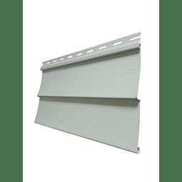 Siding PVC color Gris Sage