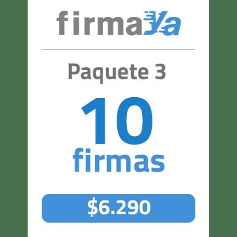 Paquete de Firma Electronica Avanzada (FirmaYa)