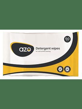 Toalhetes Detergentes Azo 24 x 22cm - Pack de 50