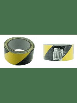 Fita anti-derrapante Preta e Amarela 5m x 5cm