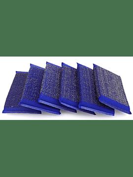 Esfregão Azul de Inox