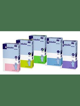 Luvas descartáveis de Nitrilo - Azul