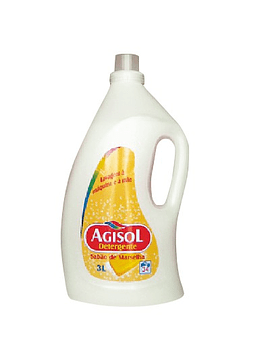 Detergente de Roupa Agisol Sabão Natural 3L