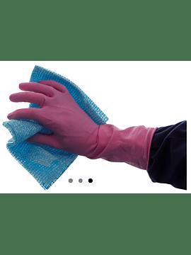 Luvas Latex Reutilizáveis Rosa M