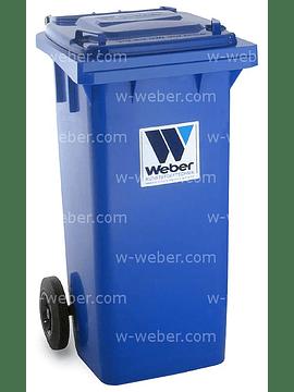 Contentor do lixo 120 litros