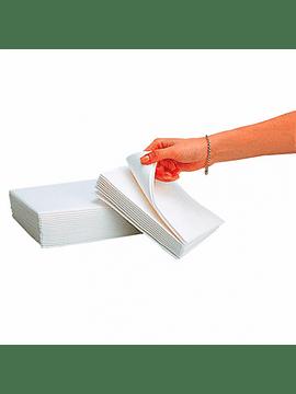 "Panos Limpeza ""Airspun"" 55g/m2 40x40cm Branco TNT Pack 30uni"