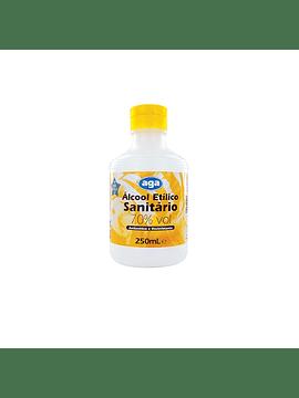 Álcool Etílico Sanitário 70° 250mL