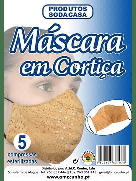 Mascara de Protecçao em Cortica com 5 Recargas