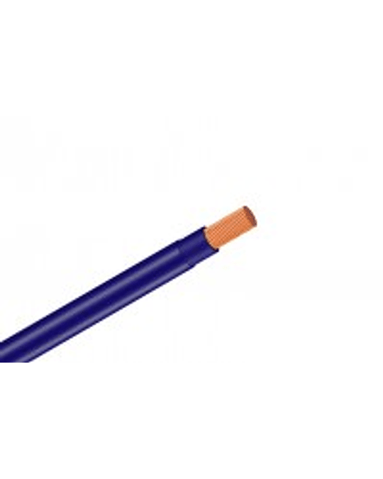 ROLLO CABLE THHN 14 AWG 100 MTS COLOR AZUL