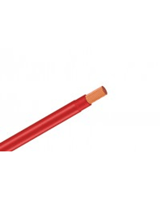ROLLO CABLE THHN 14 AWG 100 MTS COLOR ROJO