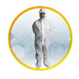 Traje de protección corporal R60