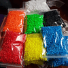 BOLSA 1000 BEADS 5MM - MULTIPLES COLORES