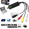 CAPTURADORA USB - AUDIO / VIDEO - RCA