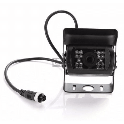 CAMARA RETROCESO 18 LED CONECTOR 4PIN AVIATOR