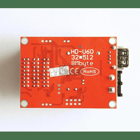 MODULO CONTROLADOR LED HD-U60