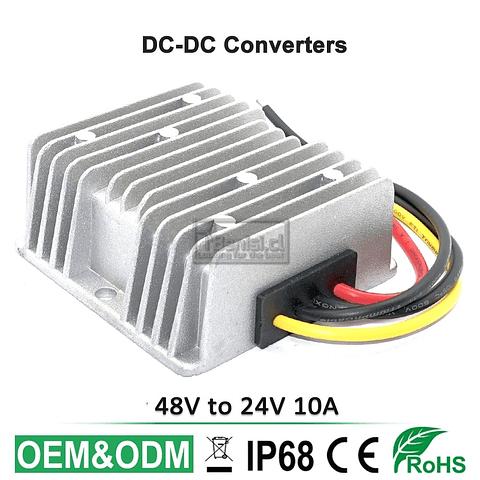 INVERSOR / CONVERTIDOR DC-DC 48V A 24V 10A 240W