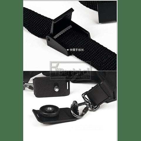CORREA PORTA CAMARA DSLR/SLR QUICK STRAP DOUBLE