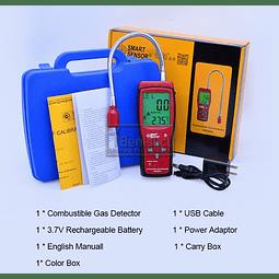 DETECTOR DE GASES EXPLOSIVOS SMART SENSOR AS8800A