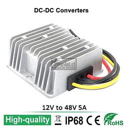 INVERSOR / CONVERTIDOR DC-DC 12V A 48V 5A 240W