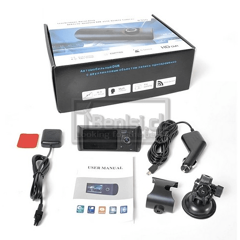 CAMARA FRONTAL R300 2.7 / GPS / SD32GB