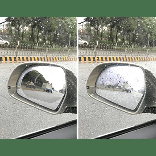 Laminas Impermeables para Espejos Retrovisores Exteriores del Auto