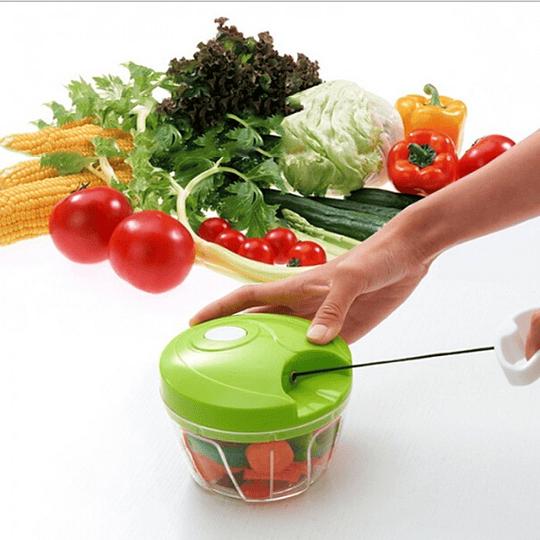 Cortador, Picador y Mezclador de Verduras