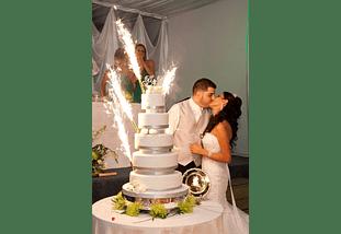 Vela Bengala, Fiestas, Cumpleaños, Matrimonios Set 6 Unidades
