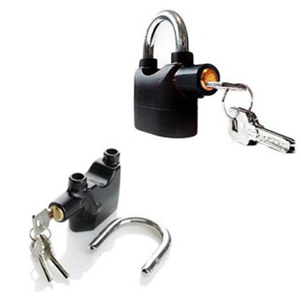 Candado anti robo con alarma de 110db negro - Robo de cocina ...