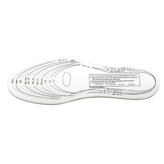 Plantillas Antibacterianas para Todo Calzado