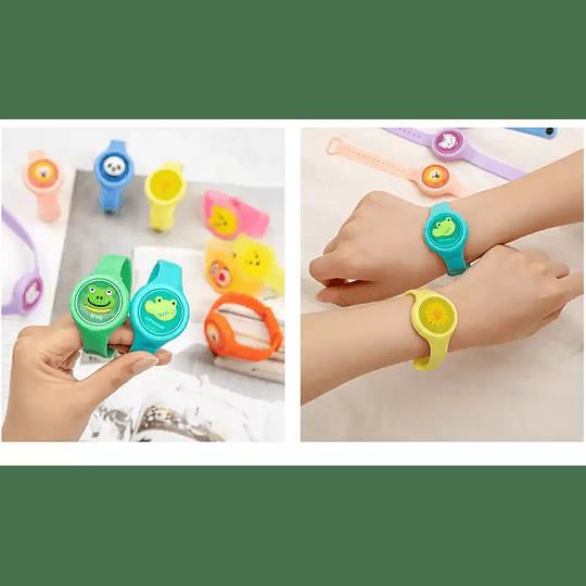 Pulsera tipo Reloj Repelente de Mosquitos para Niños
