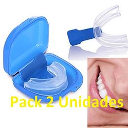 Pack 2 Placa Dental Contra Bruxismo Antirronquido