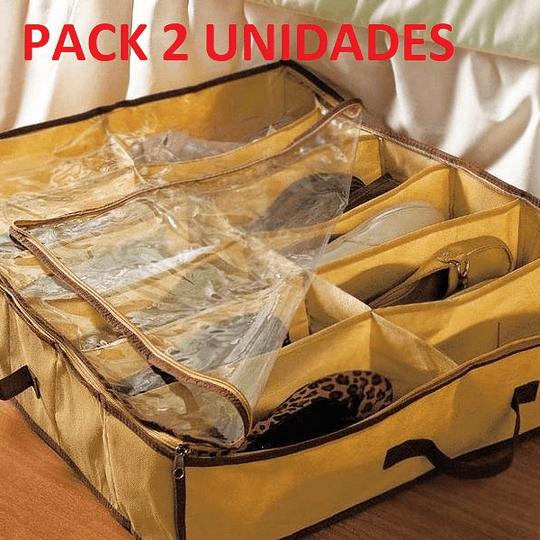 Pack 2 Organizador de Zapatos o Accesorios