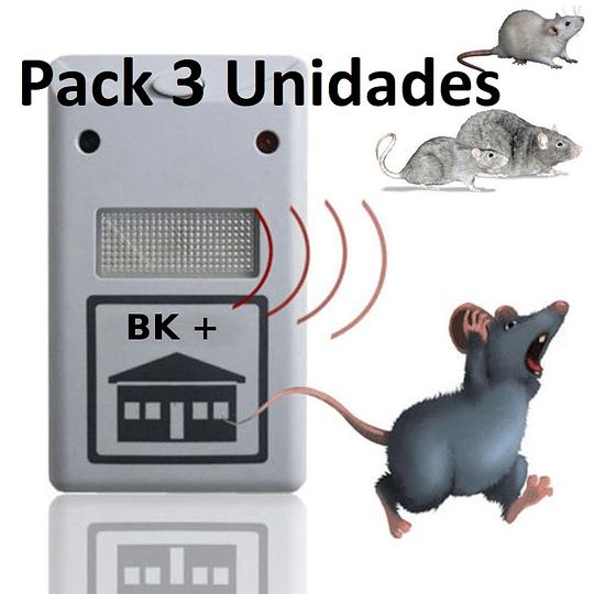 Pack 3 Repelente Electrónico  Ratones Plagas Bichos