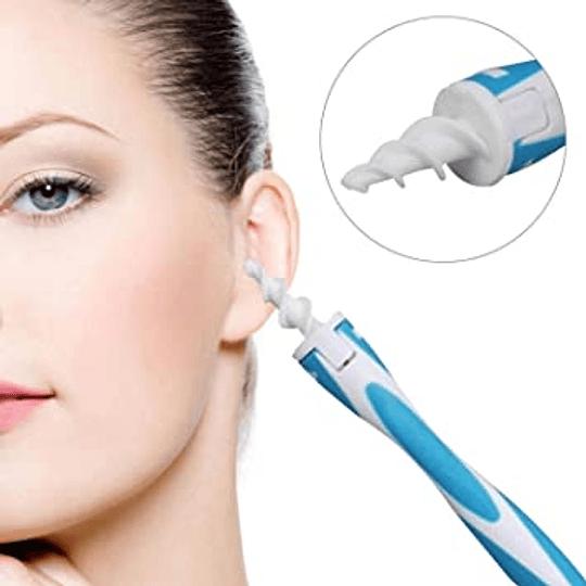 Limpiador Oído Espiral Suave Remueve Cerumen