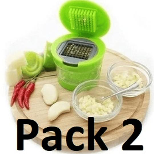 Pack 2 Picador Moledor De Ajo, Jenjibre
