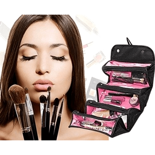 Cosmetiquero Acordeon Plegable Roll-n-go