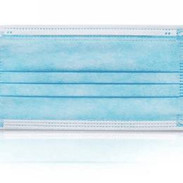 Caja 50 Unidades Mascarillas Quirúrgica de 3 Pliegues Azul